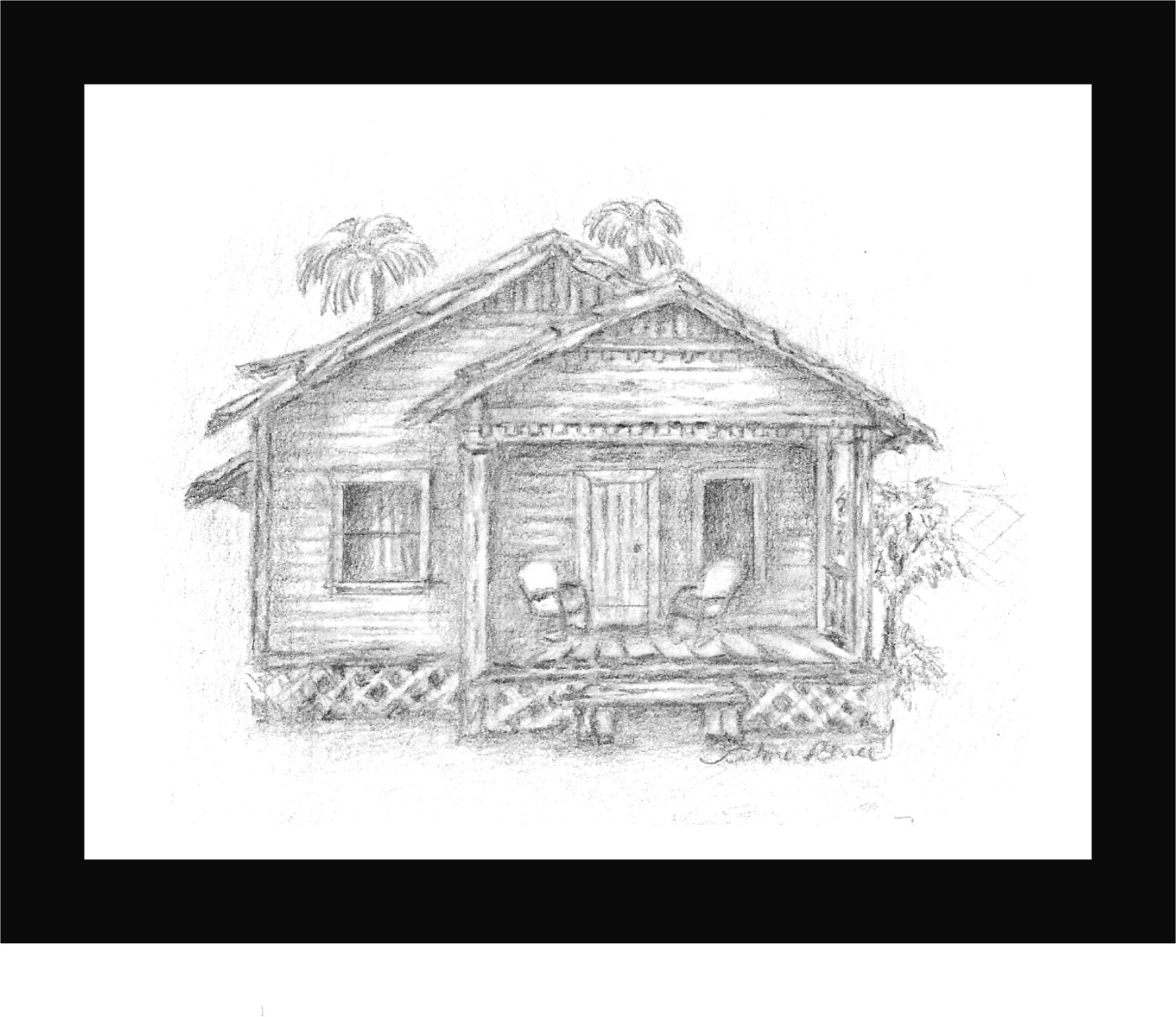 La casita de madera dibujo a lapiz alma renee 39 s blog - Imagenes de casas para dibujar ...