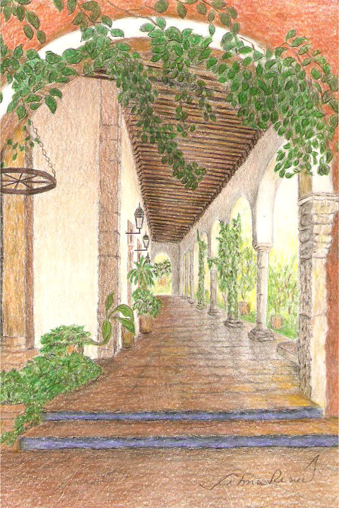 hacienda henequen planta arquitectonica: